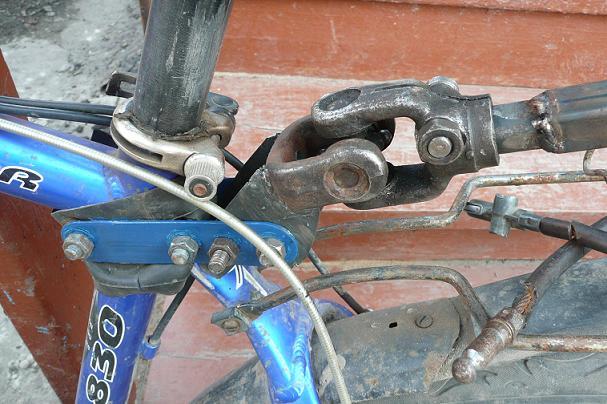 Прицепное устройство для скутера своими руками6
