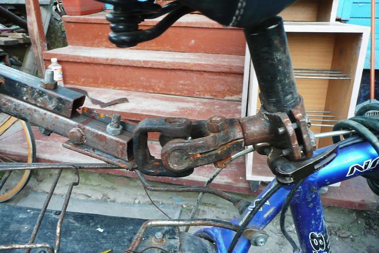 Прицепное устройство для велосипеда своими руками 8